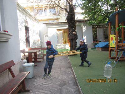 Пожарникари - ЧДГ Чебурашка - град Варна